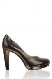 Leather pumps Nabla | black
