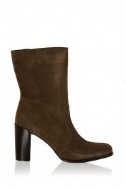 Maluo | Suede laarzen Serafina | groen  | Afbeelding 1