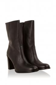 Maluo | Leren laarzen Serafina | zwart  | Afbeelding 3
