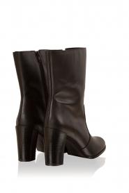 Maluo | Leren laarzen Serafina | zwart  | Afbeelding 4