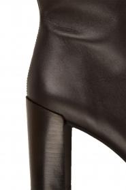 Maluo | Leren laarzen Serafina | zwart  | Afbeelding 6