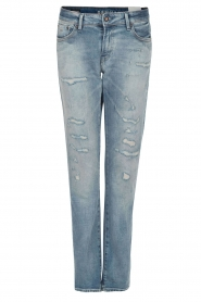 Tapered fit jeans Monroe | blauw