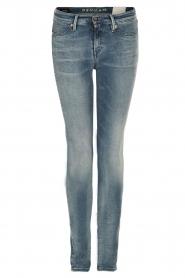 Super tight skinny jeans Spray | blauw