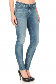 Denham | Super tight skinny jeans Spray | blauw  | Afbeelding 4