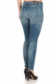 Denham | Super tight skinny jeans Spray | blauw  | Afbeelding 5