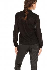 IKKS | Kanten blouse Indy | zwart  | Afbeelding 5