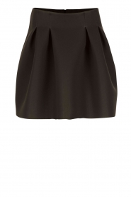 A-line skirt Suzan | black