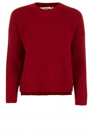 Knitted sweater Agata | red