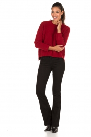 Aaiko | Gebreide trui Agata | rood  | Afbeelding 3