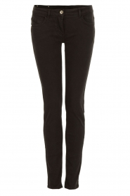 Patrizia Pepe | Skinny jeans Canva | Zwart  | Afbeelding 1