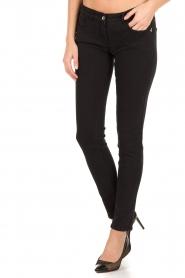 Patrizia Pepe | Skinny jeans Canva | Zwart  | Afbeelding 2