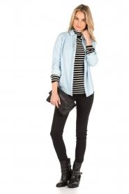 Patrizia Pepe | Skinny jeans Canva | Zwart  | Afbeelding 3