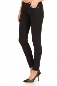 Patrizia Pepe | Skinny jeans Canva | Zwart  | Afbeelding 4