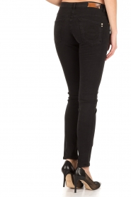Patrizia Pepe | Skinny jeans Canva | Zwart  | Afbeelding 5