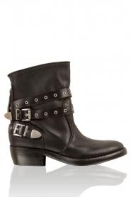 Catarina Martins | Leren laarzen Roger | zwart  | Afbeelding 1