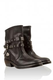 Catarina Martins | Leren laarzen Roger | zwart  | Afbeelding 3