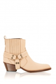 Maluo |  Leather ankle boots Mason | camel  | Picture 1