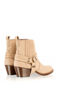 Maluo |  Leather ankle boots Mason | camel  | Picture 5