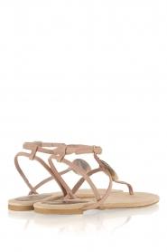 Maluo | Leren sandalen Martine | nude  | Afbeelding 5