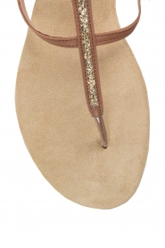 Maluo |  Leather sandals Marie | brown  | Picture 6