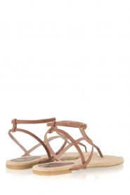 Maluo |  Leather sandals Marie | brown  | Picture 5