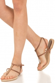 Maluo |  Leather sandals Marie | brown  | Picture 2