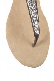 Maluo | Leren sandalen Mabel | grijs  | Afbeelding 6