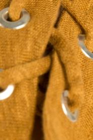 IRO | Linnen lace-up top Ibex | camel  | Afbeelding 6