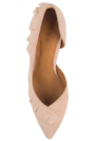 IRO |  Suede pump Escavol | nude  | Picture 6