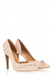 IRO |  Suede pump Escavol | nude  | Picture 4