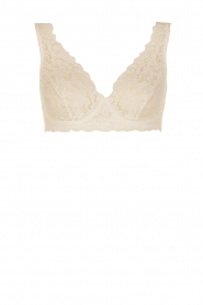 Hanro |  Lace bra soft-cup moments | light beige  | Picture 1