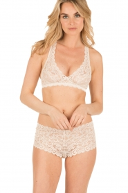 Hanro |  Lace bra soft-cup moments | light beige  | Picture 2