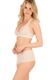 Hanro |  Lace bra soft-cup moments | light beige  | Picture 3