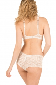Hanro |  Lace bra soft-cup moments | light beige  | Picture 4