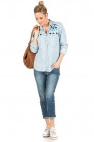 RAILS | Denim blouse Bret | blauw  | Afbeelding 3