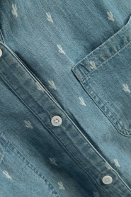 RAILS | Denim blouse Carter Cactus | blauw  | Afbeelding 6