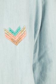RAILS | Denim blouse Brett | blauw  | Afbeelding 6