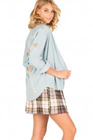RAILS | Denim blouse Brett | blauw  | Afbeelding 2