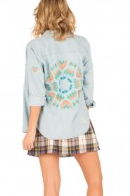 RAILS | Denim blouse Brett | blauw  | Afbeelding 5