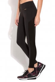 Deblon Sports | Side Pocket Sportlegging Lynn | Zwart  | Afbeelding 2