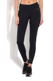 Deblon Sports | Side Pocket Sportlegging Lynn | Zwart  | Afbeelding 4