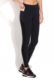 Deblon Sports | Side Pocket Sportlegging Lynn | Zwart  | Afbeelding 6