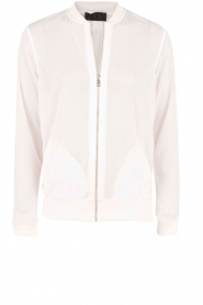 Beta Studios |  Sport bomber jacket Mesh | white  | Picture 1