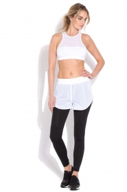 Beta Studios |  Sport shorts Mesh | white  | Picture 3