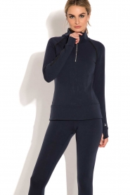 Beta Studios |  Sports sweater Reflex | dark blue  | Picture 2