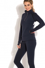Beta Studios |  Sports sweater Reflex | dark blue  | Picture 4