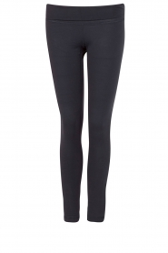 Sportlegging Zipper | donkerblauw