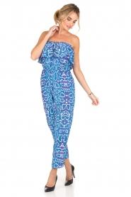 Alice & Trixie | Zijden jumpsuit Memphis | print  | Afbeelding 2