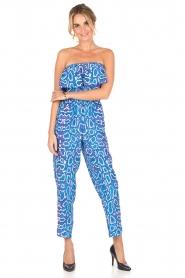 Alice & Trixie | Zijden jumpsuit Memphis | print  | Afbeelding 4