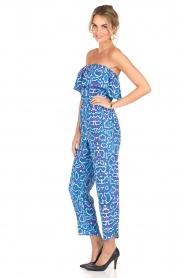 Alice & Trixie | Zijden jumpsuit Memphis | print  | Afbeelding 5